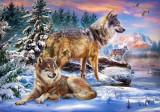 Puzzle Castorland - Wolfish Wonderland 500 piese (53049)