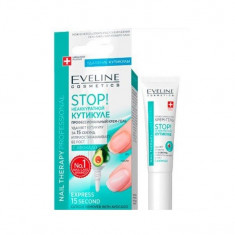 Tratament pentru indepartarea cuticulelor Eveline Cosmetics cu avocado, 12 ml