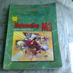 MANUAL METEMATICA CLS. XII-A M3 - FLORIN CIRJAN
