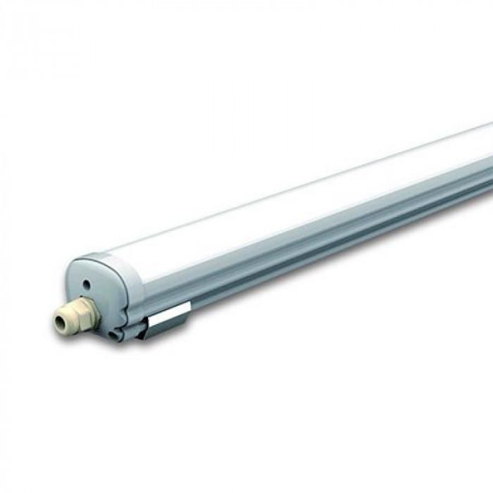 Plafoniera LED, 150 cm, 48 W, temperatura culoare alb neutru, 3840 lm