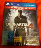 Uncharted 4 a thief's end PS4, original și sigilat, alte sute de jocuri!, Actiune, 16+, Single player