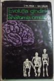 Evolutia gandirii în anatomia omului / I. Th. Riga si Gheorghe Calin