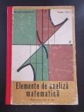 ELEMENTE DE ANALIZA MATEMATICA - Nicolae Dinculeanu, Eugen Radu