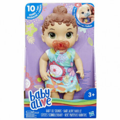 Baby Alive - Papusa interactiva Lil Sounds, satena