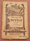 Nuvele. B.P.T. nr 545 Editura Alcalay  - Villiers de L'Isle Adam