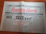 ziarul romania libera 10 ianuarie 1990-articole despre revolutie
