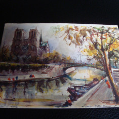 Carte postala - Paris - 1966- circulata
