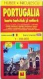 Portugalia - Harta turistica si rutiera |