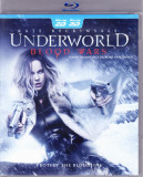Blu Ray 3D: Underworld - Blood Wars ( original, 2 discuri: versiuni 2D si 3D )