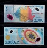 BANCNOTA 2000 2 000 LEI 1999 ECLIPSA