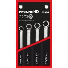 Set chei inelare torx CR-VA Proline HD, E6-E24, 4 piese/set