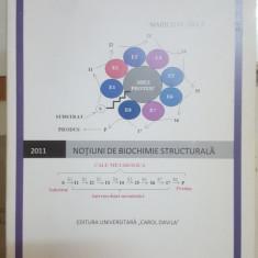 Marilena Gîlcă, Noțiuni de biochimie structurală, 2011