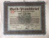 3000 Goldmark Titlu de stat Germania 1928