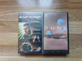 Lot filme SF, casete video VHS - Blade Runner, Dune