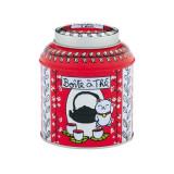 Cutie metalica - Boite a The Vrac Chat - Rouge | Derriere la porte