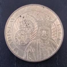 Moneda 50 bani 2014 Vladislav Vlaicu