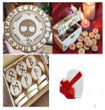 Cumpara ieftin Placa divinatie copacul vietii+un set de rune cadou, Fridolin