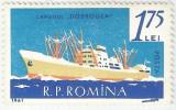 România, LP 517/1961, Marina, eroare 1, MNH