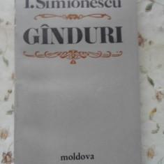 GANDURI - CRISTOFOR I. SIMIONESCU