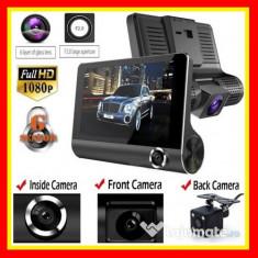 Camera Video Fata Spate interior Auto Camera Marsarier Parcare HD DVR 3