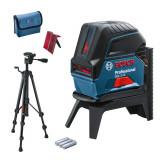 Bosch GCL 2-15 Professional + BT 150 Nivela laser cu puncte si linii, 15m, precizie 0.3mm/m