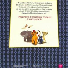 Garda leului in actiune. 32 de planse de colorat. Ed. 2016