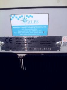 Dozator  Apa Rece-Cald ALPS MDd 2000 FHC