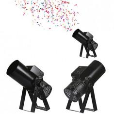 Masina tip tun confeti 430w manual sau dmx