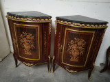 Elegant set de 2 colțare in stilul francez Empire