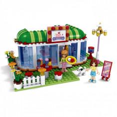 Set cuburi Lego, actual investing, model restaurant, 298 piese