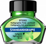 Cernela perlata verde deschis Standardgraph 30 ml
