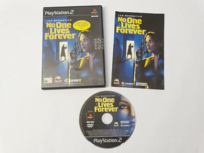 Joc Playstation 2 - PS2 - No One Lives Forever foto