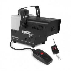 Beamz Rage 600, generator de fum, 600 W, 65m³/min, 0,5l, telecomandă cu fir