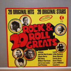 20 Rock'N'Roll Greats – Selectii (1974/K-Tell/RFG) - disc VINIL