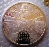 10.032 GERMANIA RFG FRANCKESCHE STIFTUNGEN 10 DEUTSCHE MARK 1998 G PROOF, Europa, Argint