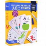 Cartonase Scrie si Sterge ABC Mideer
