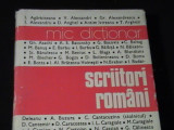 SCRIITORI ROMANI-MIC DICTIONAR-COORD. MIRCEA ZACCIU-527 PG-