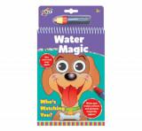 Cumpara ieftin Set Water Magic - Carte de colorat Ghici cine-i acolo?, Galt