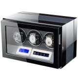 Cutie pentru intors ceasuri automatice iUni Luxury Watch Winder 3, Negru