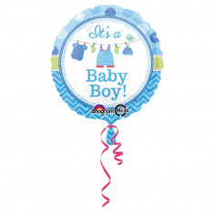 Balon folie 43cm It's a Baby Boy!