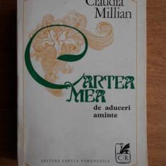 CARTEA MEA CU ADUCERI AMINTE - CLAUDIA MILLIAN