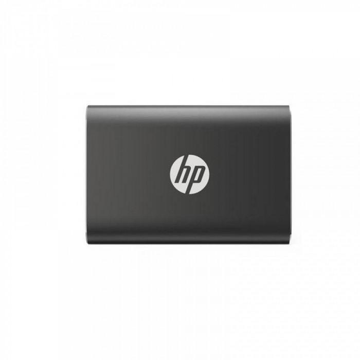 SSD extern HP, P500, 500GB, 2.5, USB 3.1, Type-C, Negru