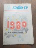 PROGRAME TELE RADIO REVELION 1979, 980 SI 1984