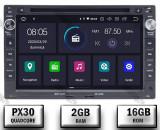 Cumpara ieftin Navigatie Volkswagen, Android 10, Passat B5 Golf IV Sharan T4-T5 Jetta Polo, QUADCORE PX30 2GB RAM + 16GB ROM cu DVD, 7 Inch - AD-BGWVWB5P3