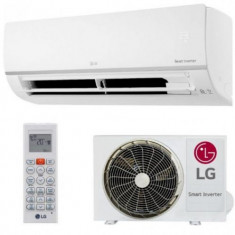 Aparat de aer conditionat LG PC24SQ, Inverter, Wi-fi integrat, 24000BTU, Clasa A++ (Alb), 24000 BTU, A++, Standard