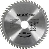 Disc circular lemn 184 x 30 x 3.2 mm 50 dinti Yato YT-6062