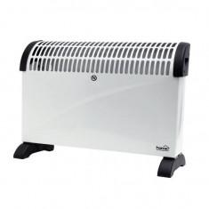 Convector electric de podea Home FK 330, 3 trepte de putere, 2000W, termostat, Alb Mania Tools