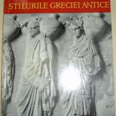STILURILE GRECIEI ANTICE-VASILE DRAGUT