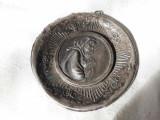 MEDALION PECTORAL argint FECIOARA MARIA cu PRUNCUL ISUS opulent EXCEPTIONAL rar