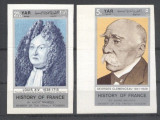 Yemen 1969 History of France, 2 imperf., MNH AL.014